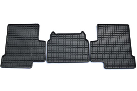mercedes g class winter floor mats kit 3 doors